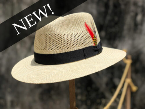 Custom Vented Fedora
